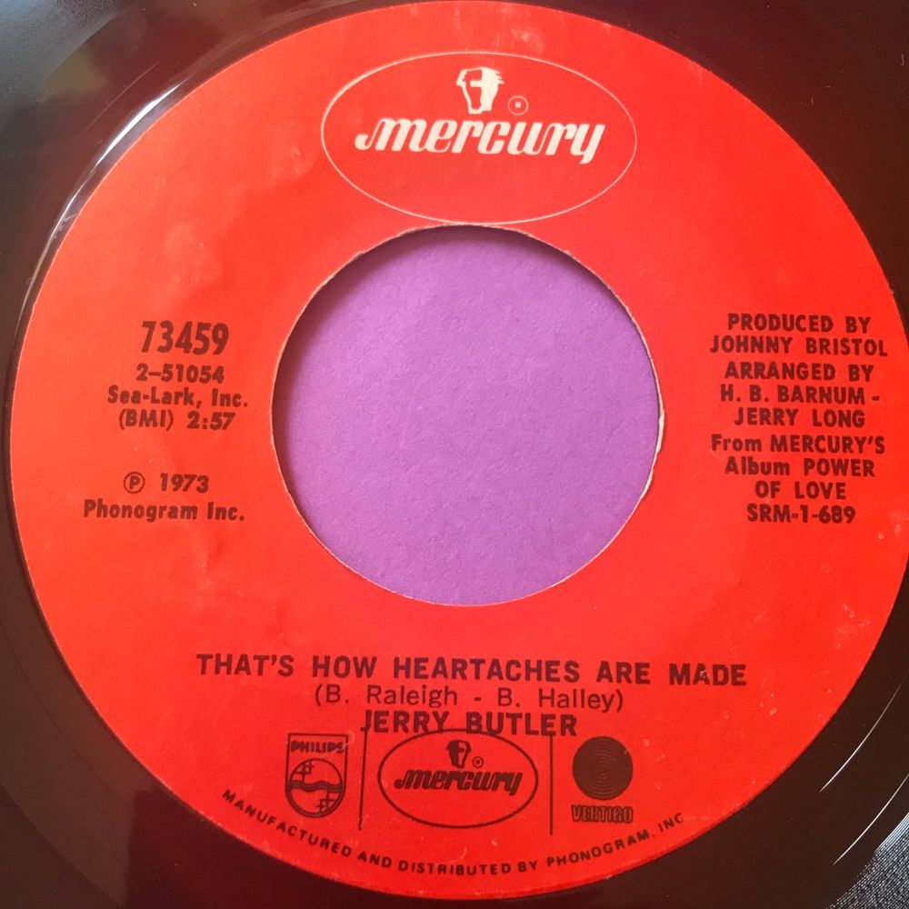 Jerry Butler-That's how heartaches are made-Mercury E+