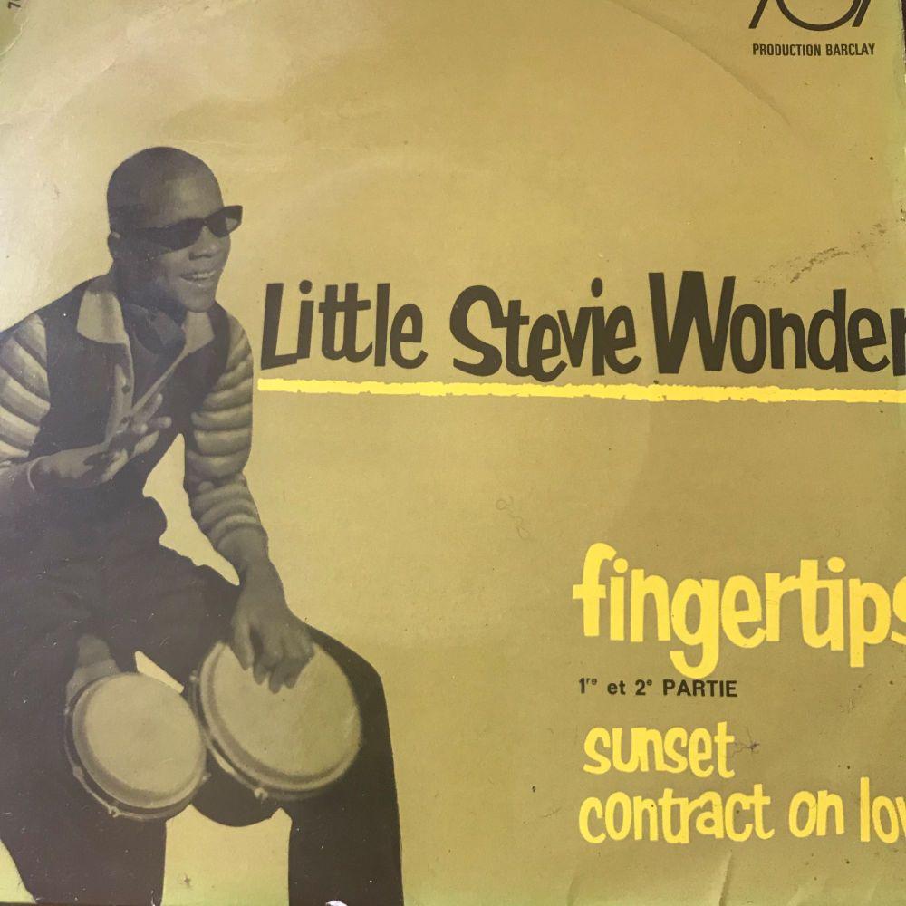 Stevie Wonder-Fingertips-French Barclay EP vg+