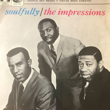 Impressions-Soulfully- HMV EP   E