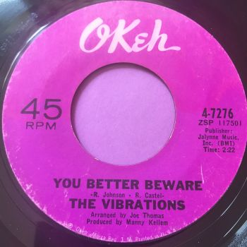 Vibrations-You better be aware-Okeh E+