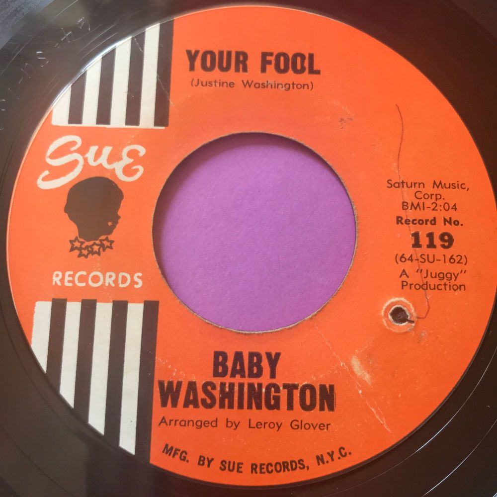 Baby Washington-Your fool-Sue E