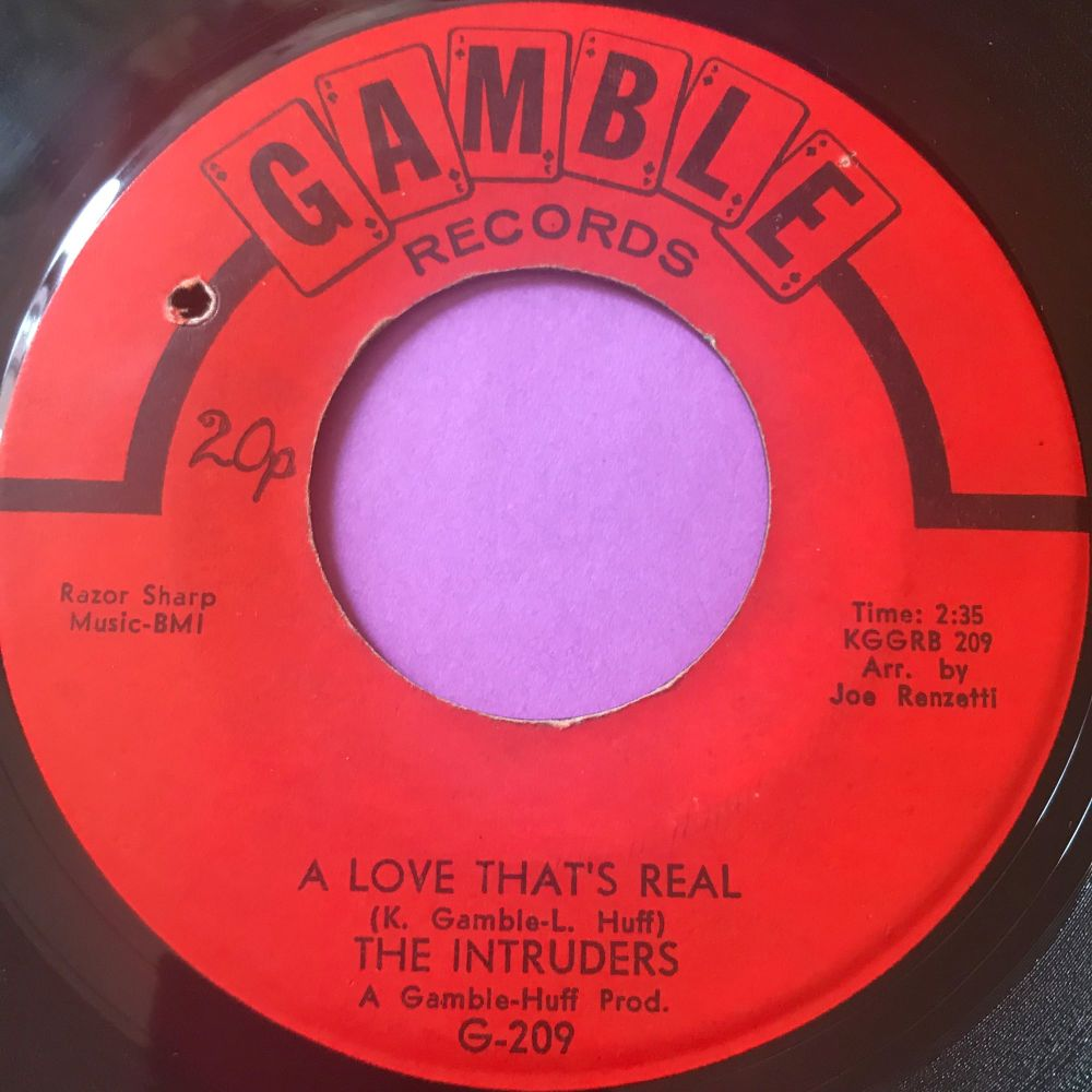 Intruders-A love that's real-Gamble E+