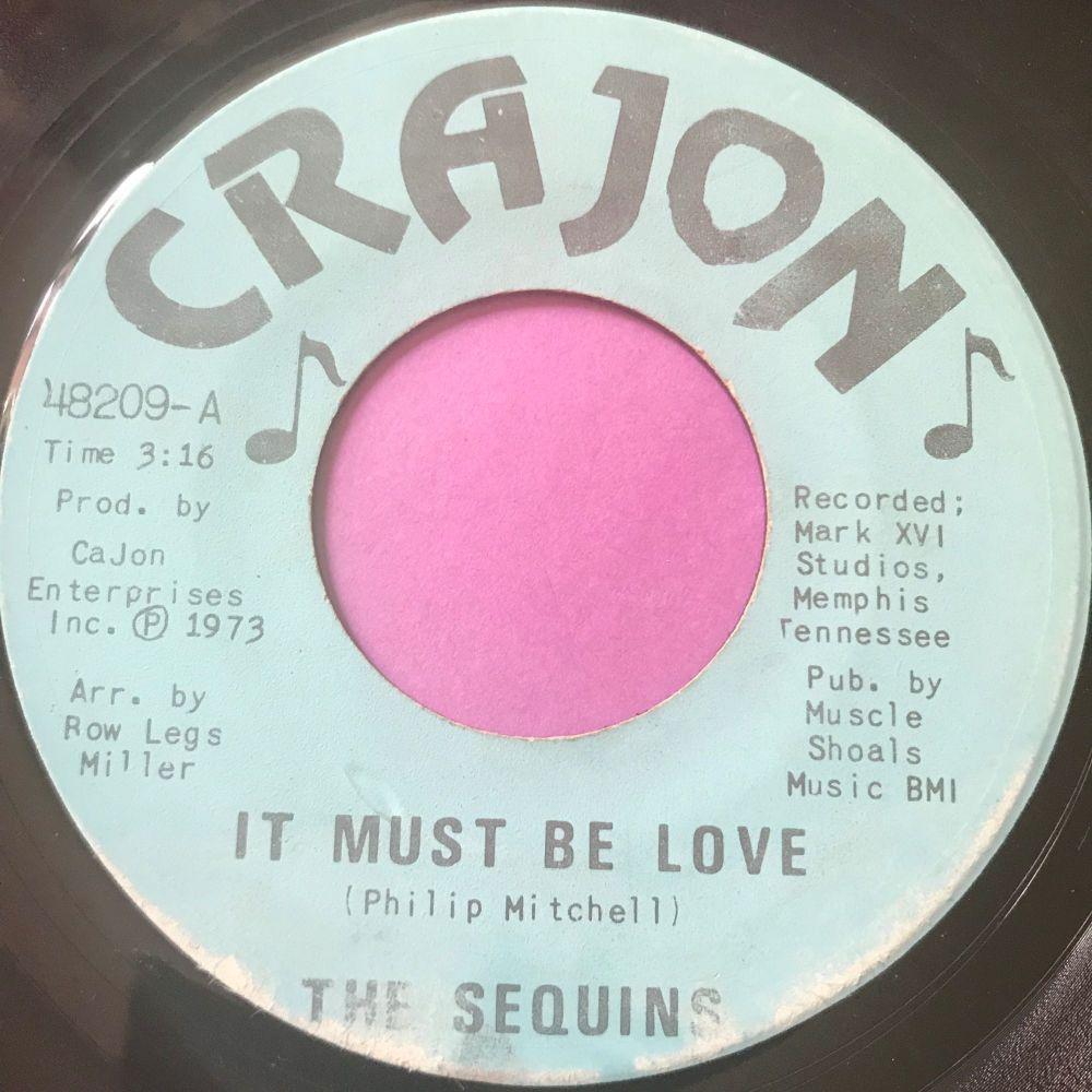 Sequins-It must be love-Crajon E+