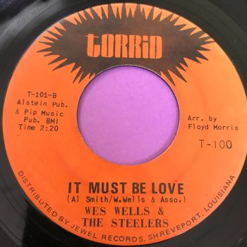 Wes Wells& The Steelers-It must be love-Torrid E