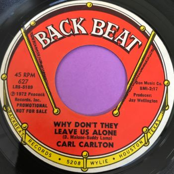 Carl Carlton-Why don't they leave us alone-Backbeat E+