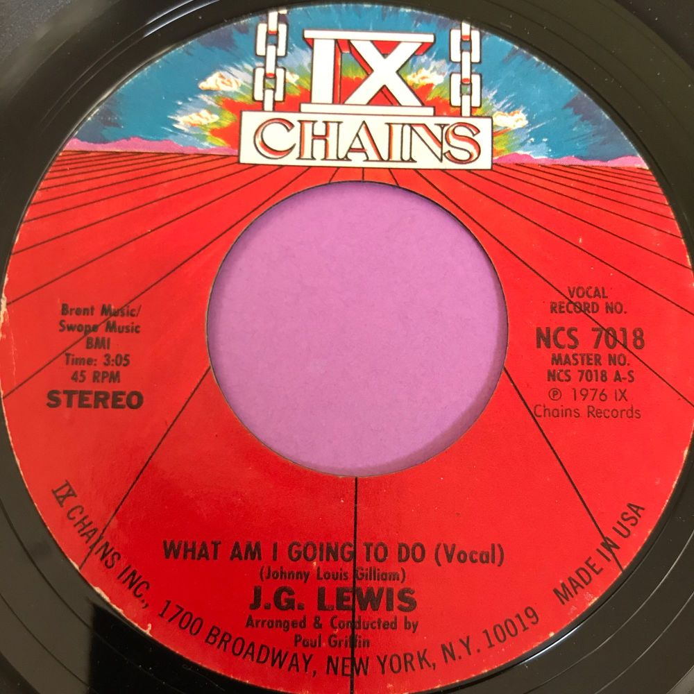 J.G Lewis-What am I gonna do-ix Chains E+