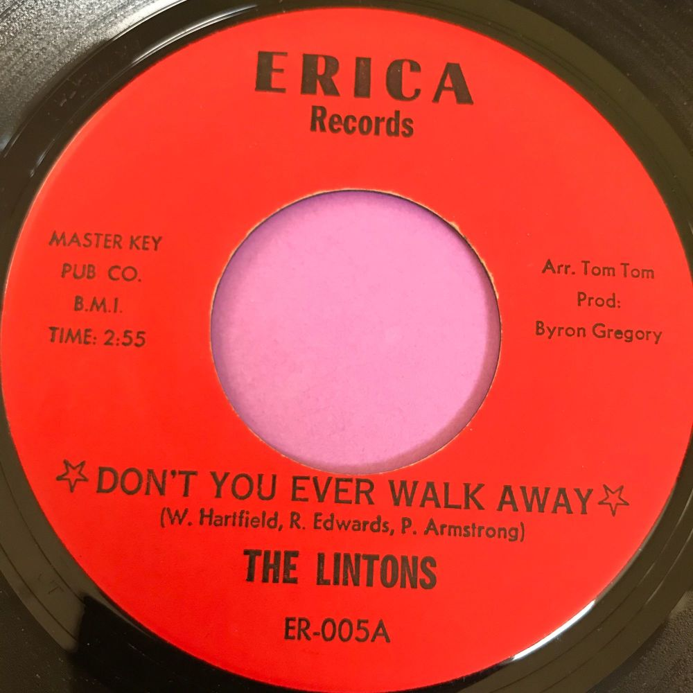 Lintons-Lost Love/ Don't you ever walk away-Erica E+