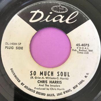 Chris Harris-So much soul-Dial WD E