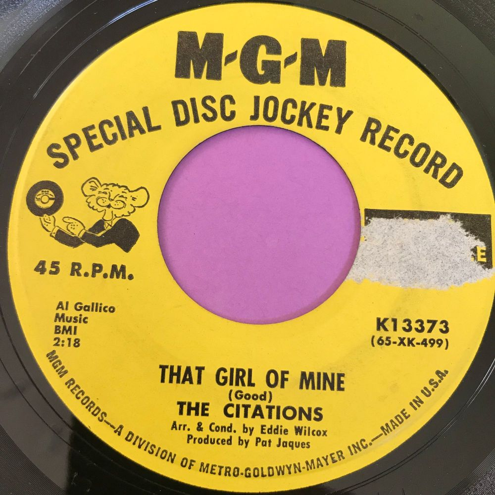 Citatations-That girl of mine-MGM Demo LT  E