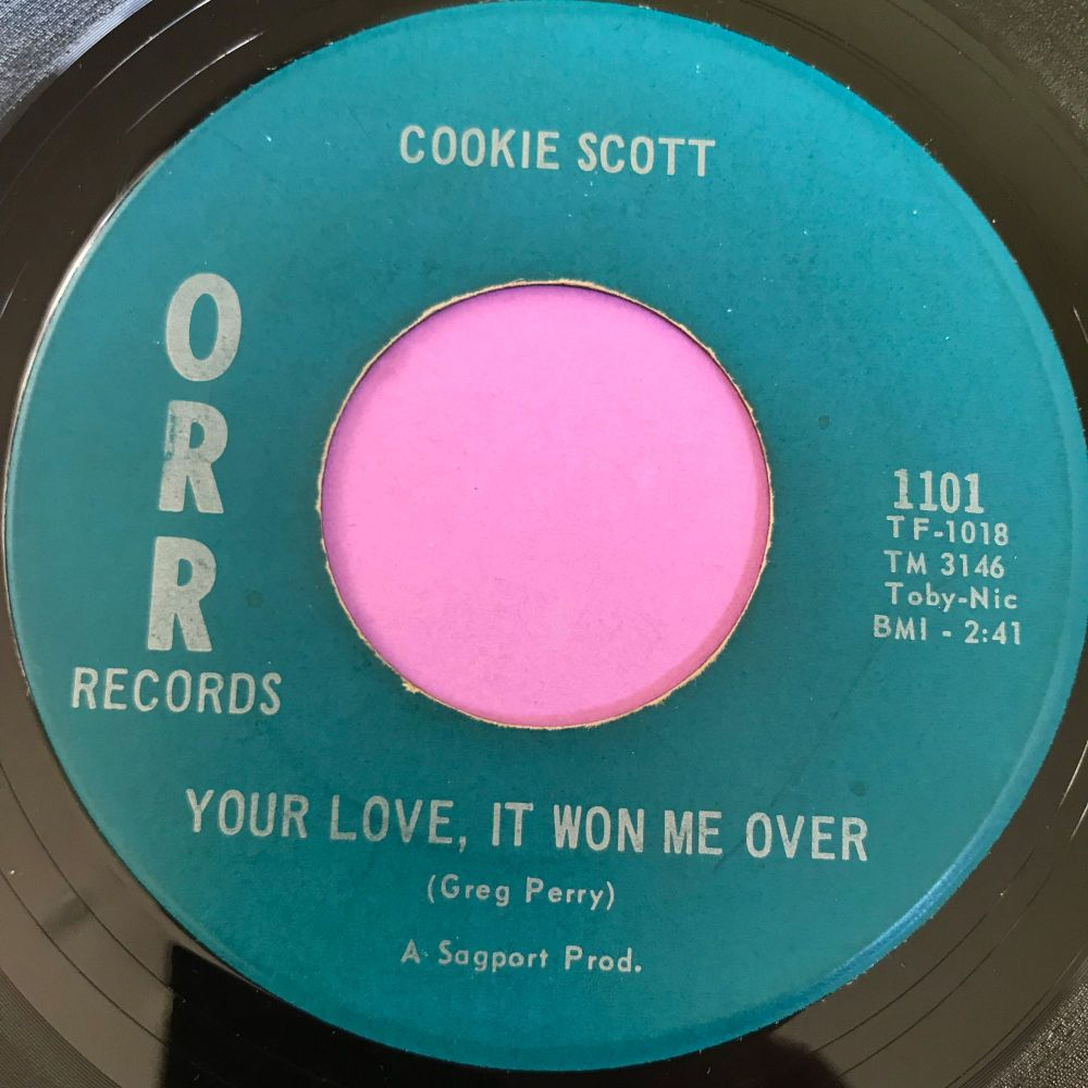 Cookie Scott-Your love, it won me over-Orr E