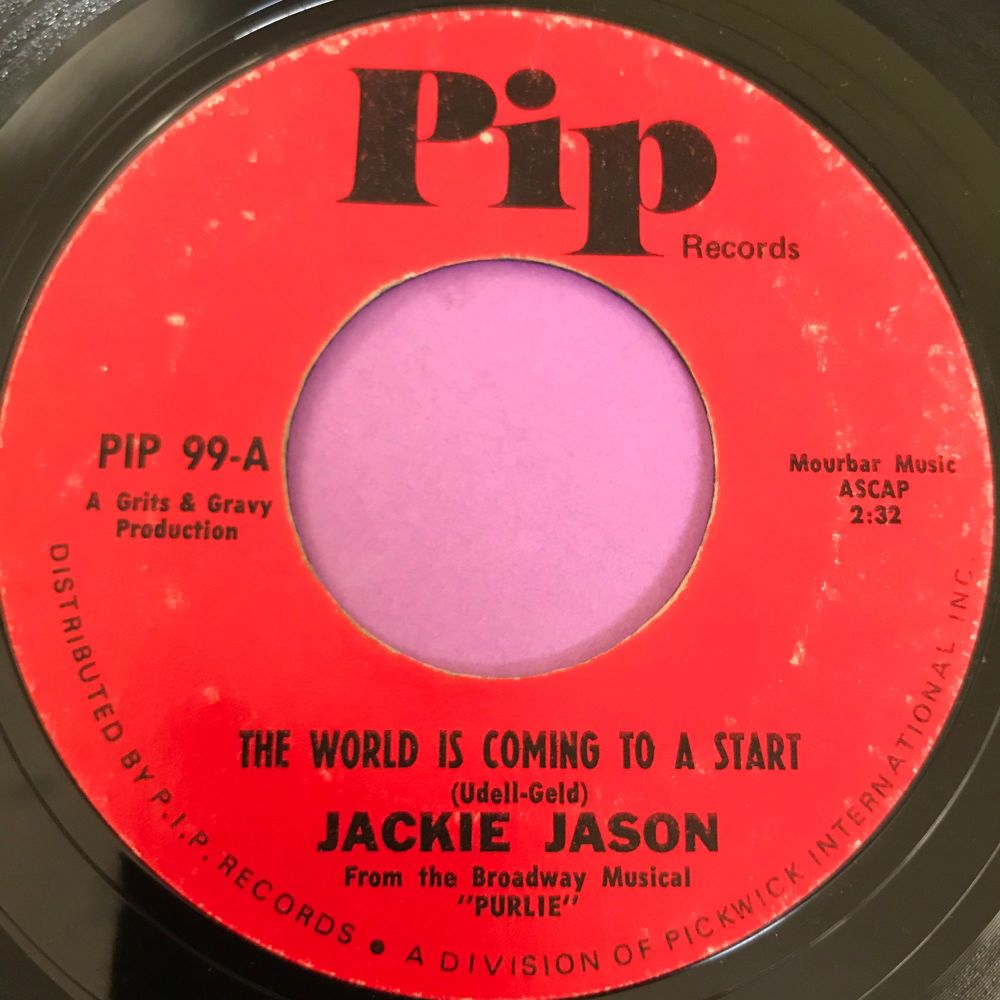 Jackie Jason-The world is coming to a start-Pip E