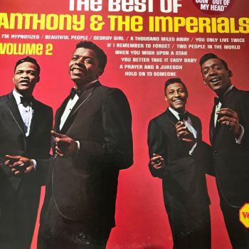 Anthony & The Imperials-The best of-Veep LP E+