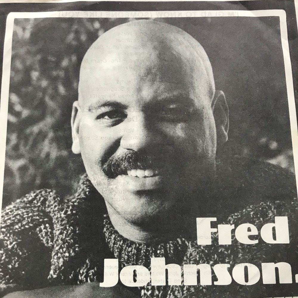 Fred Johnson-I'm glad to know you-Fantasia PS M-