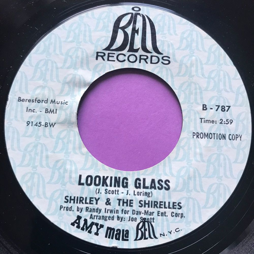 Shirley & The Shirelles-Looking glass-Bell Demo E+