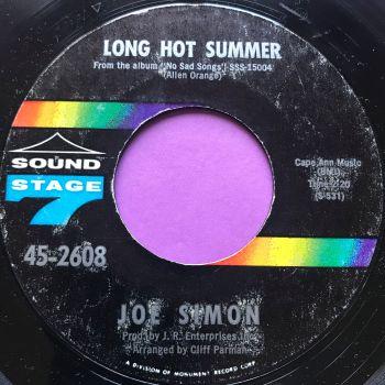 Joe Simon-Long hot summer-Sound stage 7 E