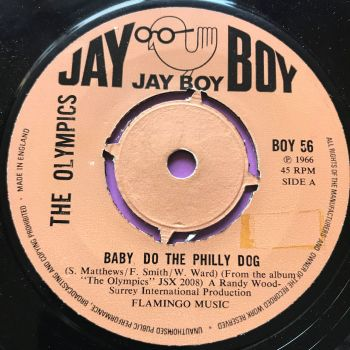Olympics-Secret agents/Baby do the Philly dog-UK Jayboy E