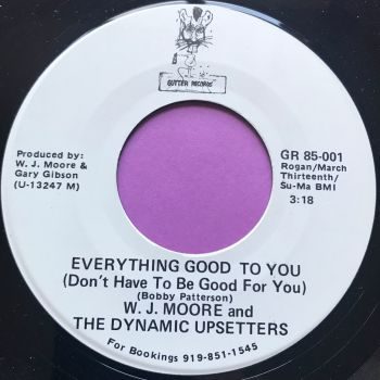 W.J Moore-Everything good to you-Gutter WD E+