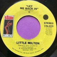 Little Milton-Let me back in-Stax E+