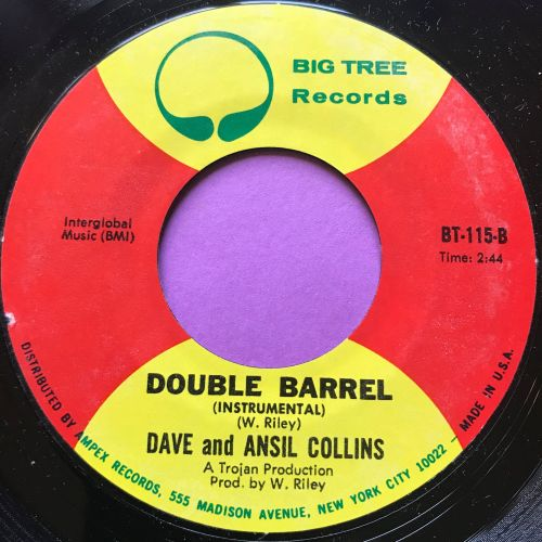 Dave and Ansil Collins-Double barrell-Big tree M-