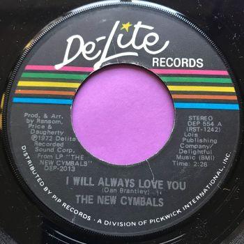 New Cymbals-I will always love you-De-lite M-