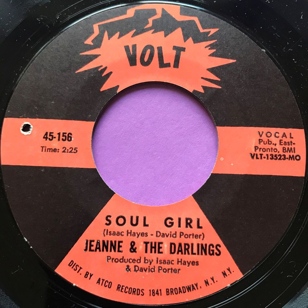 Jeanne & The Darlings-Soul girl-Volt M-