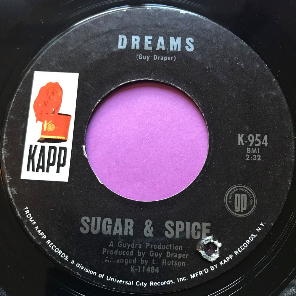 Sugar & Spice-Dreams -Kapp E