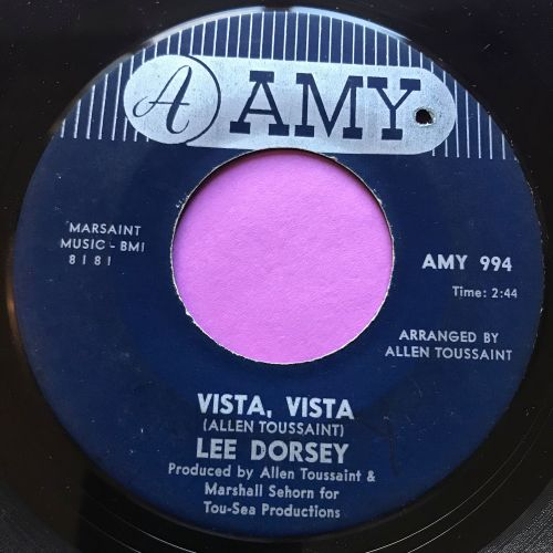 Lee Dorsey-Vista, vista-Amy E