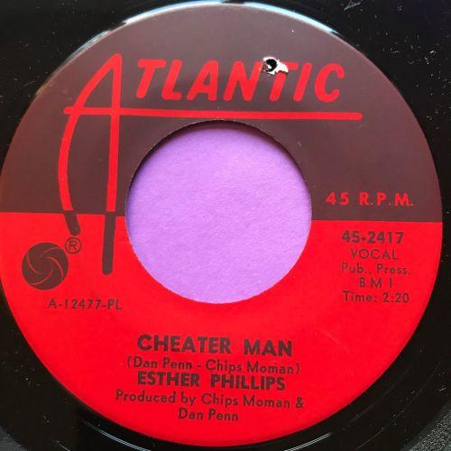 Esther Phillips-Cheater man-Atlantic M-