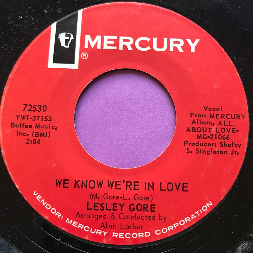 Lesley Gore-We know we're in love-Mercury M-