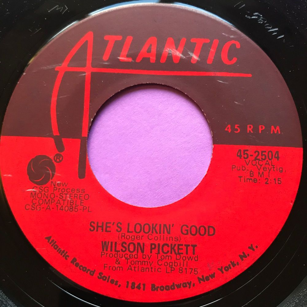 Wilson Pickett-She's looking good-Atlantic E+
