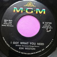 Kim Weston-I got what you need-MGM M-