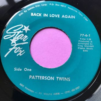 Patterson Twins-Back in love again-Star Fox E