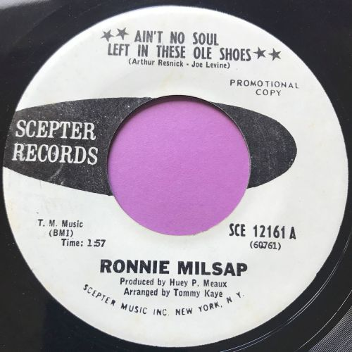 Ronnie Milsap-Ain't no soul left in these old shoes-Scepter WD E+