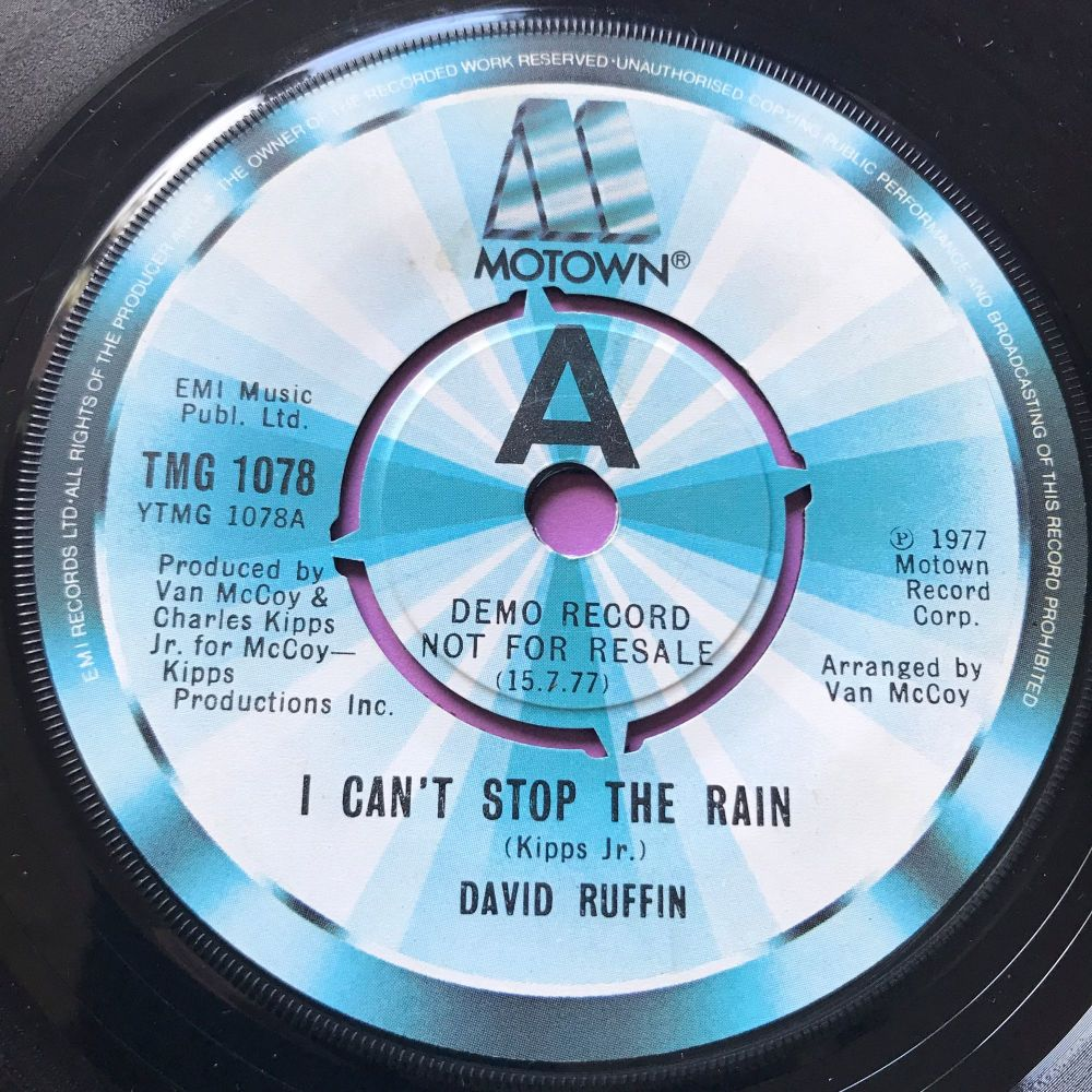 David Ruffin-I can't stop the rain-UK Motown Demo E+