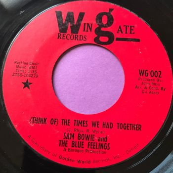 Sam Bowie-The times we had together-Wingate E+