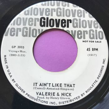 Valerie & Nick-It ain't like that-Glover WD E+