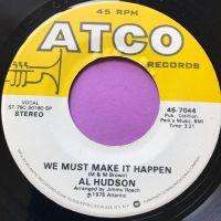 Al Hudson-We must make it happen-Atco E+