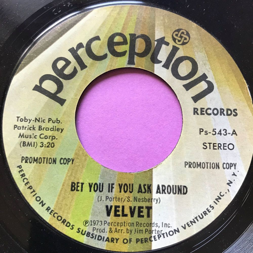 Velvet-Bet you if you ask around-Perception E+