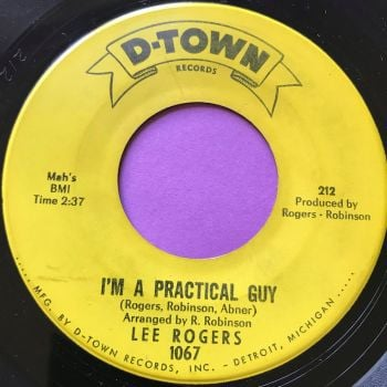 Lee Rogers-I'm a practical guy-D-Town E+