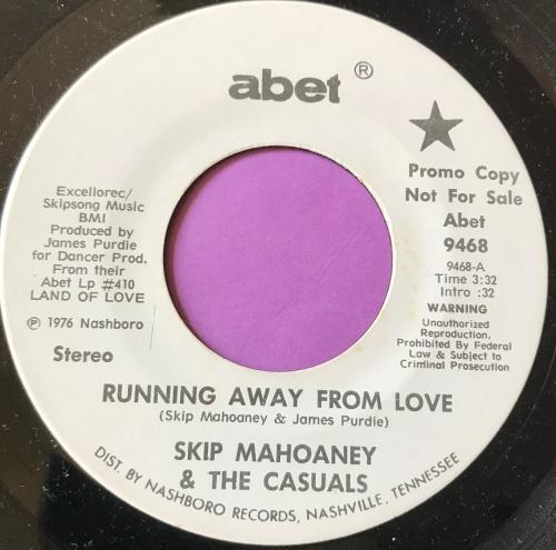 Skip Mahoney-Running away from love-Abet E+