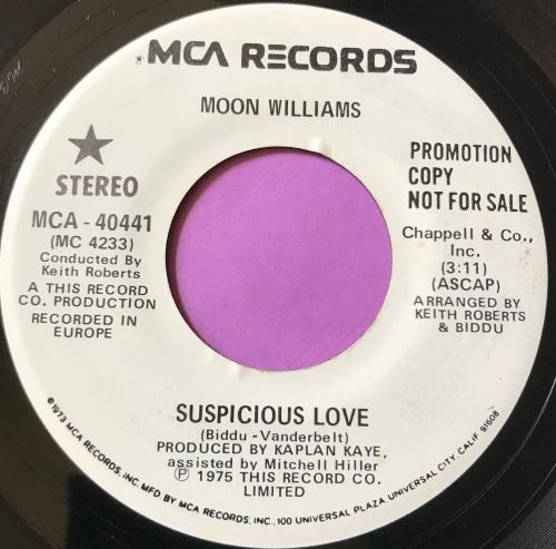 Moon Williams-Suspicious love-MCA WD E+