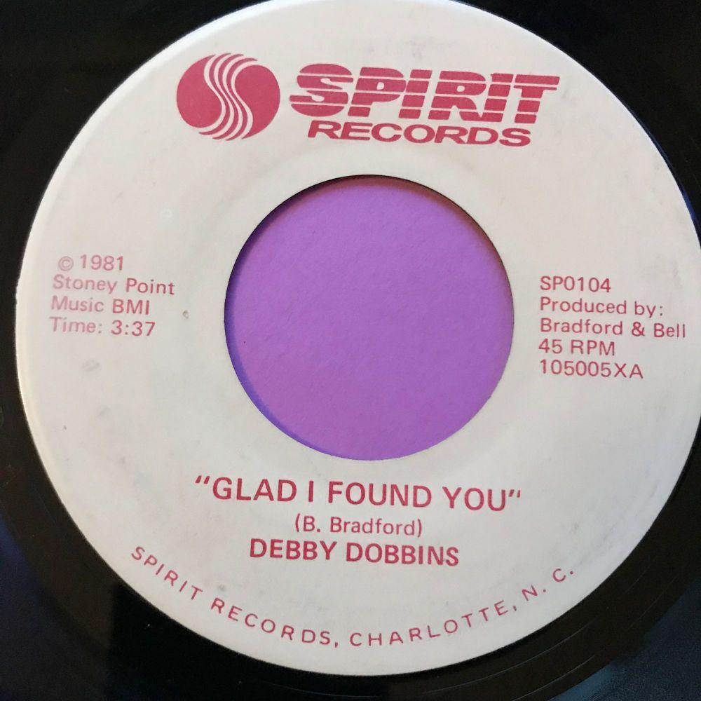 Debbie Dobbins-Glad I found you-Spirit E+