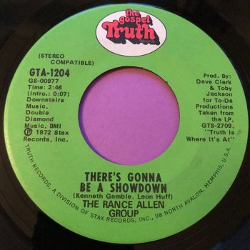 Rance Allen-There's gonna be a showdown-Gospel truth E+