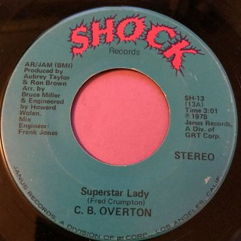 C.B Overton-Superstar lady-Shock  E+