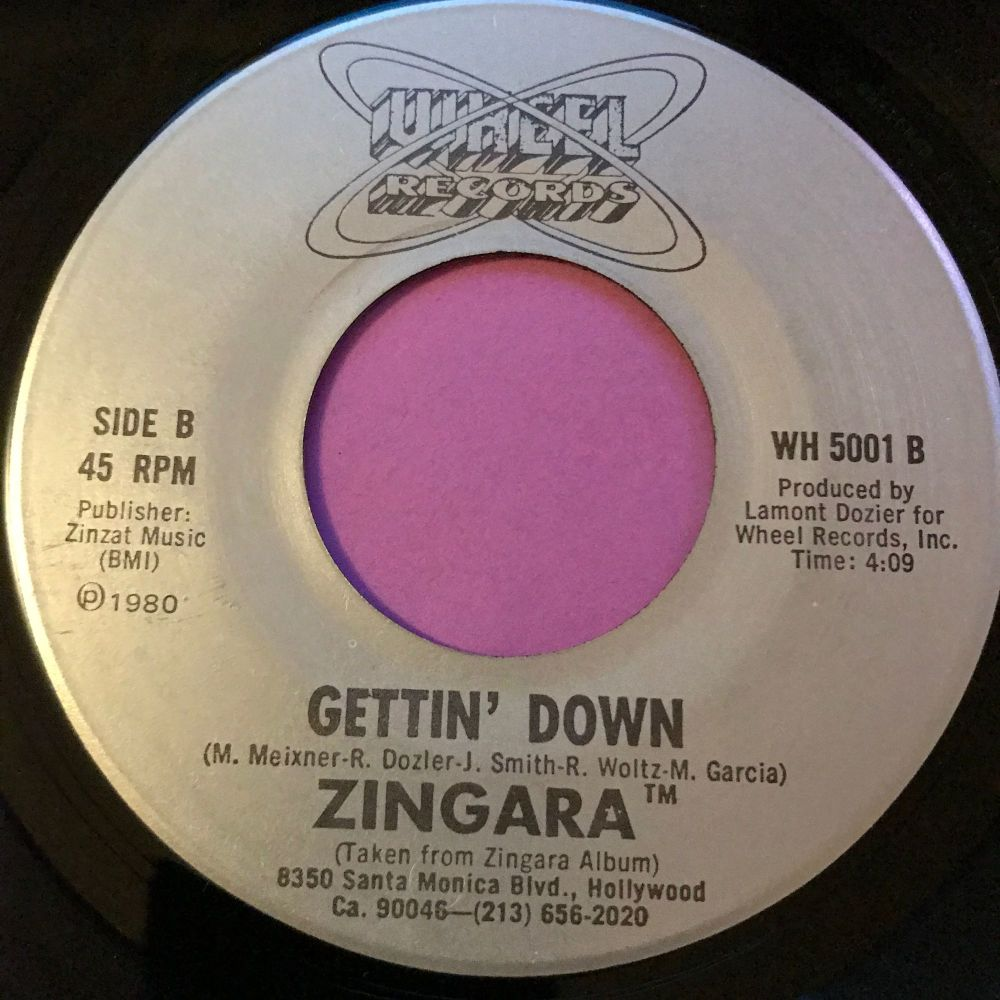 Zingara-Gettin' down-Wheel E+