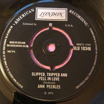 Ann Peebles-Slipped tripped and fell in love-UK London E+