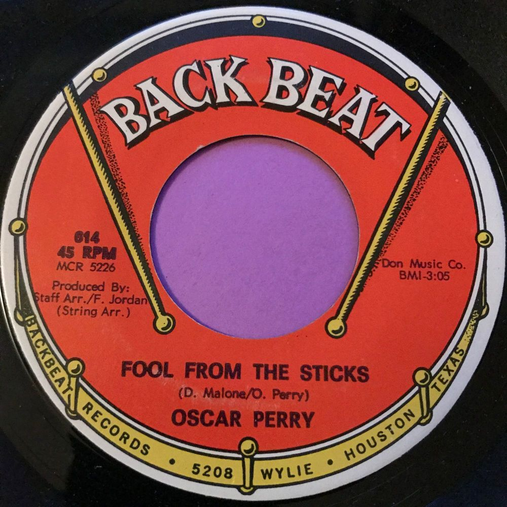Oscar Perry-Fool from the sticks-BackBeat E+