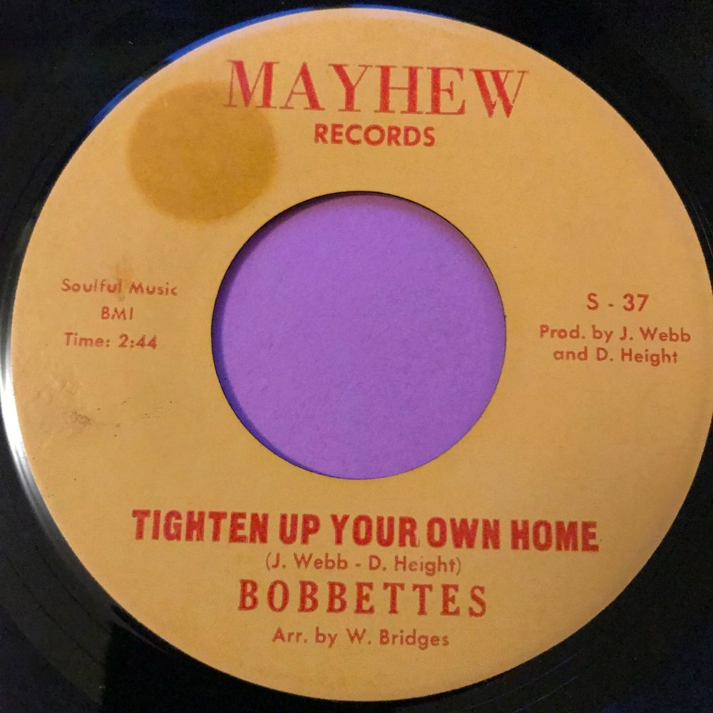 Bobbettes-Tighten up your own home-Mayhew E+
