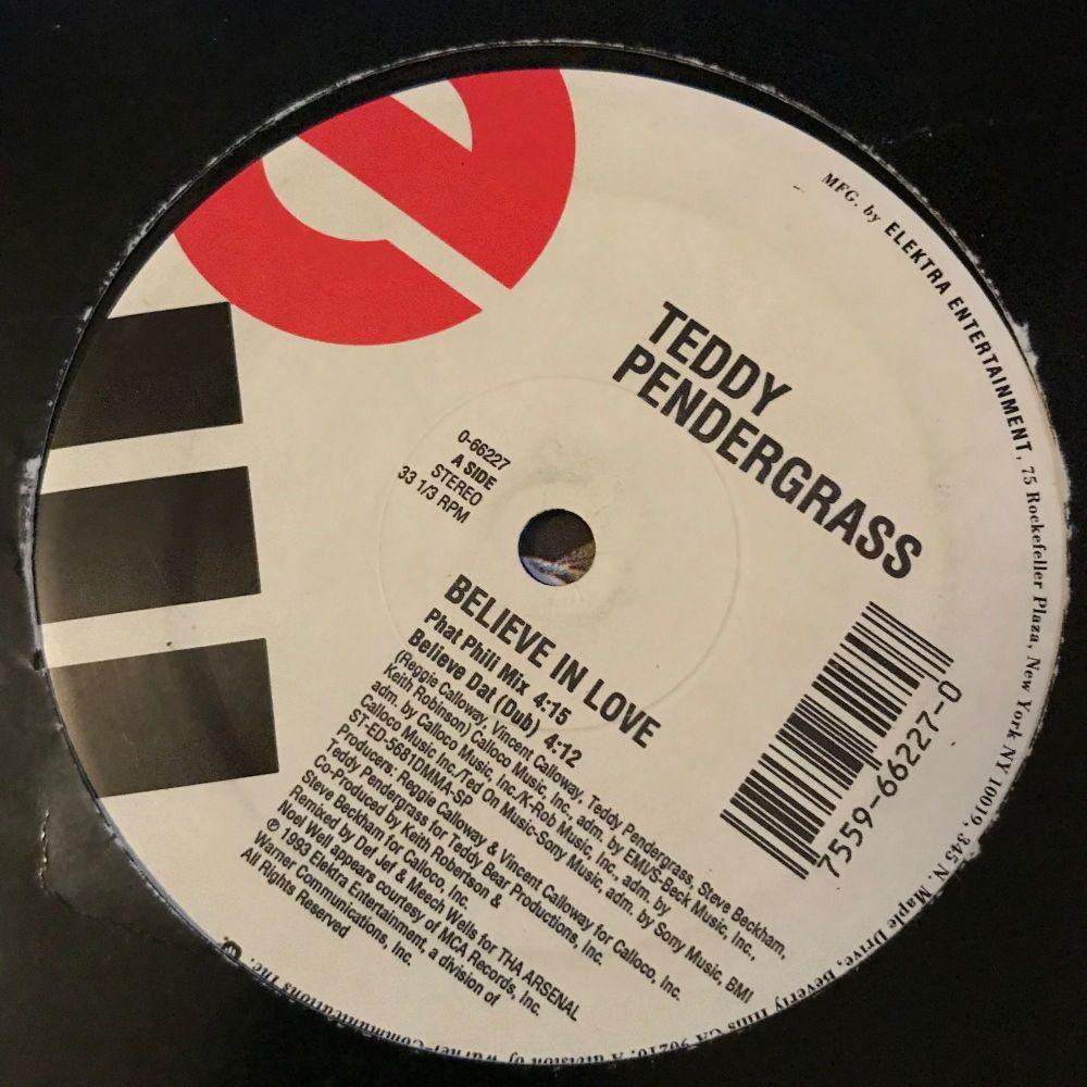 Teddy Pendergrass-Believe in love-Me 12