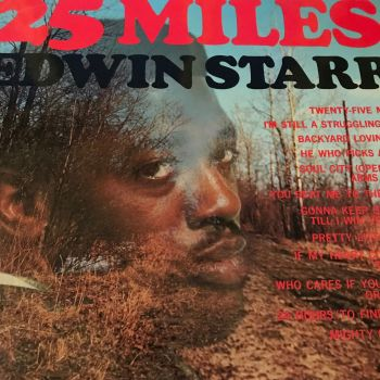 Edwin Starr-25 Miles Lp-UK Tamla Motown E+